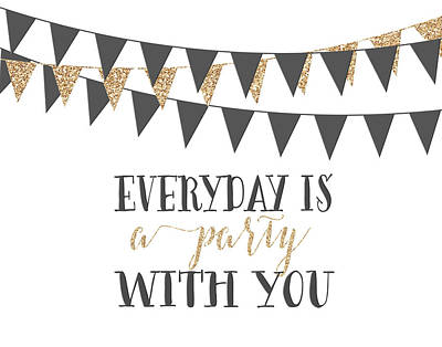 A Party With You Poster