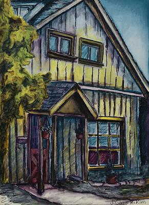 A Path To My House Poster by Jo-Anne Gazo-McKim