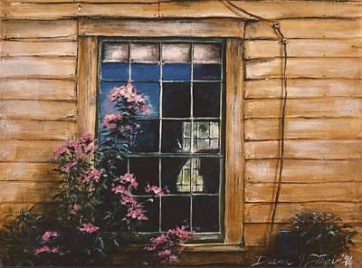A Peek Through The Window Poster