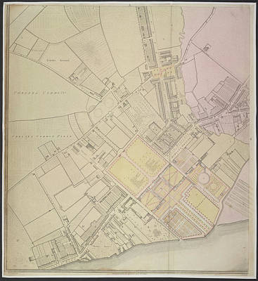 A Plan Of Chelsea Poster