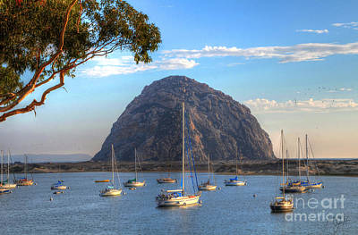 A Pleasant Day In Morro Bay Poster