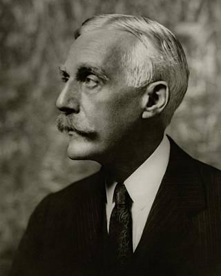 A Portrait Of Andrew D. Mellon Poster