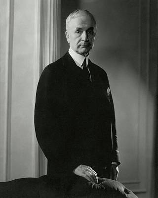 A Portrait Of Cordell Hull Poster by Edward Steichen