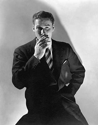 A Portrait Of Errol Flynn Poster