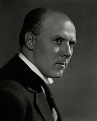 A Portrait Of Walter Gieseking Poster by Nickolas Muray