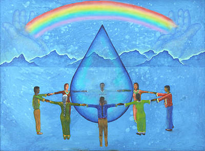 A Prayer For Water Poster