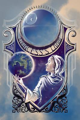 A Princess's Lament Poster by Vincent Carrozza