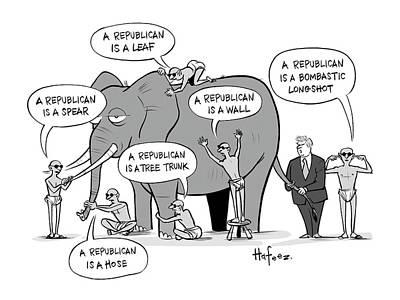 A Republican Is A Bombastic Longshot Poster
