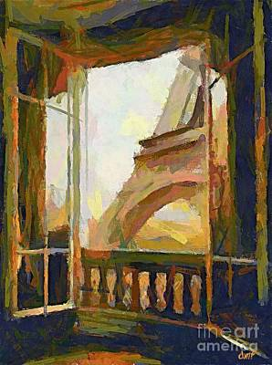 A Room With A View Poster by Dragica  Micki Fortuna