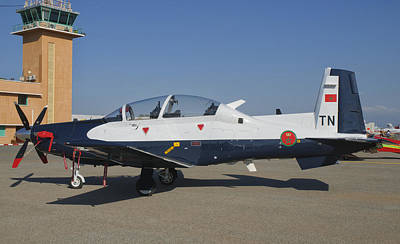 A Royal Moroccan Air Force T-6 Texan II Poster