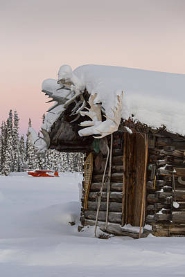 A Rustic Winter Retreat Poster