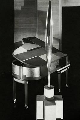 A Sculpture Called Bird In Flight Designed Poster by Edward Steichen