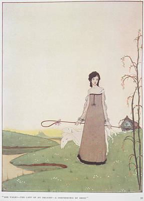 A Shepherdess Poster