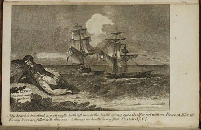 A Shipwreck Scene Poster