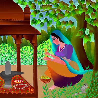 A Silent Prayer In Solitude Poster