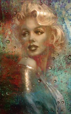 A Star Through The Rain Poster by Greg Sharpe
