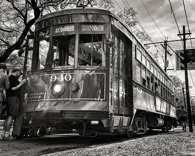 A Streetcar Named St Charles Poster