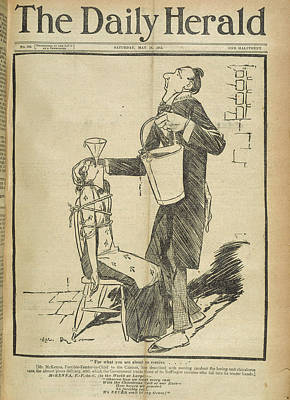 A Suffragette In Prison Poster by British Library