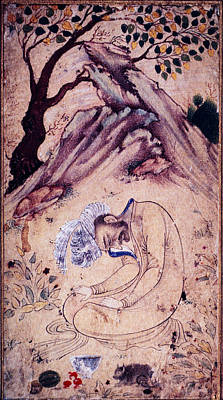A Sufi In Ecstasy In A Landscape Poster