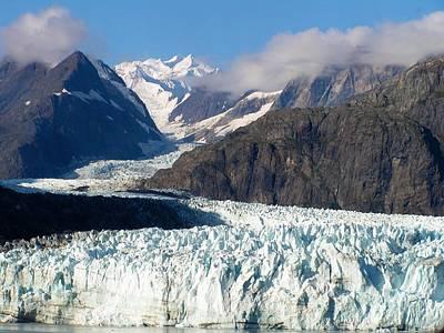 A Sunny Day In Glacier Bay Alaska Poster
