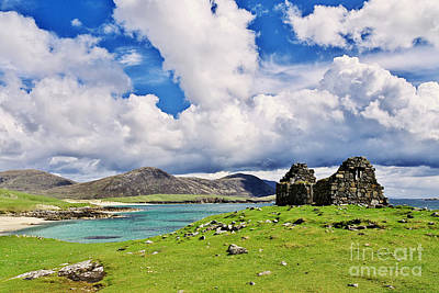 Poster featuring the photograph A Sunny Day In The Hebrides by Juergen Klust