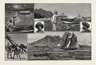 A Surveying Cruise Among The Solomon Islands 1 Poster