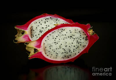 A Taste Of Cyprus Exotic Red Pitahaya Dragon Fruit Poster