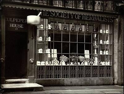 A Tea House In London Poster by E. J. Mason