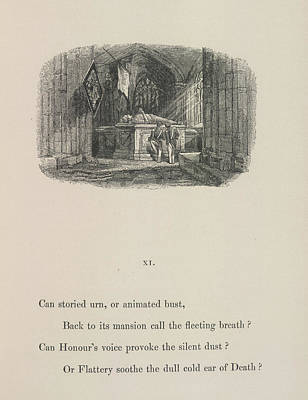 A Tomb Poster by British Library