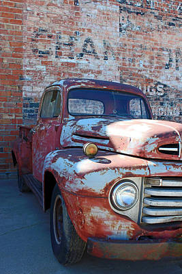 A Truck In Goodland Poster by Lynn Sprowl