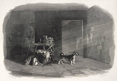 A Turnspit Dog Depicted When Poster