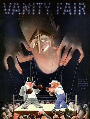 A Vanity Fair Cover Depicting Class Issues Poster