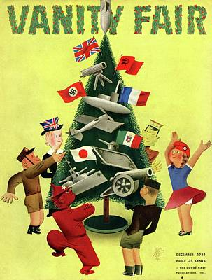 A Vanity Fair Cover Depicting International Poster