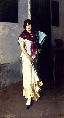 A Venetian Woman, 1882 Oil On Canvas Poster