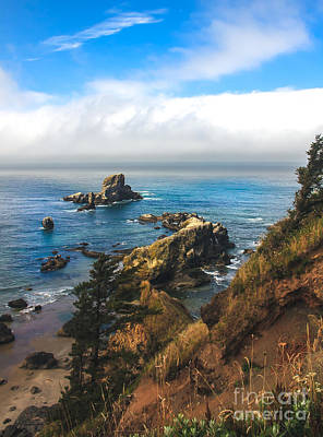 A View From Ecola State Park Poster by Robert Bales