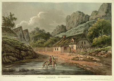 A View Near Matlock Poster by British Library