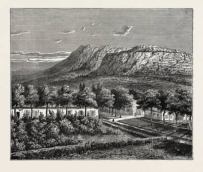 A Village In The Orange Free State Poster by Litz Collection