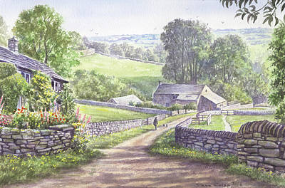 A Walk In The Dales Poster by Steve Crisp