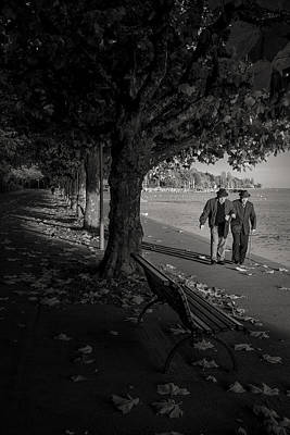 Poster featuring the photograph A Walk In The Park by Antonio Jorge Nunes