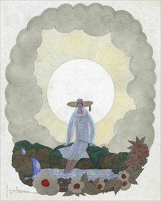 A Woman By A River Poster