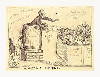 A Word Of Comfort, Dent, William, Active 1783-1793, En Poster