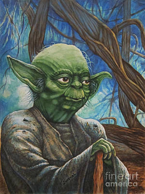 A Younger Yoda Poster