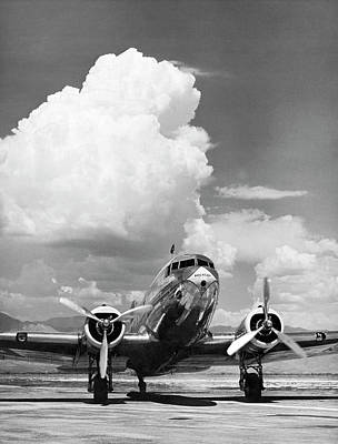 Aa Dc-3 Flagship Minneapolis. Poster by Underwood Archives
