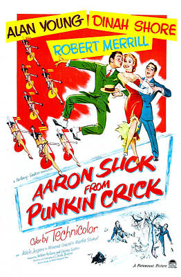 Aaron Slick From Punkin Crick, Us Poster by Everett