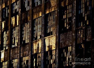 Abandoned Denaturing Plant Poster by James Aiken