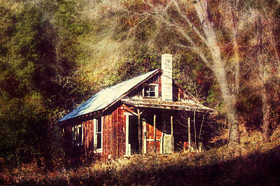 Abandoned Dreams Poster by Melanie Lankford Photography