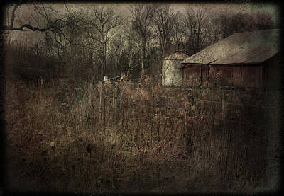 Poster featuring the photograph Abandoned Farm by Cynthia Lassiter
