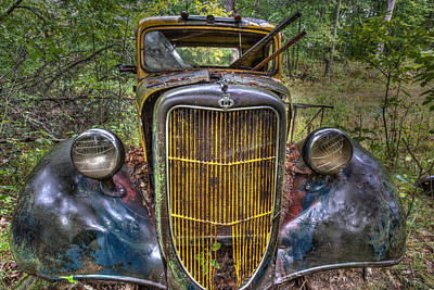 Abandoned Ford Poster