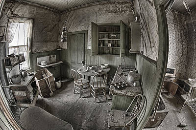 Abandoned House In Bodie Poster by Igor Baranov