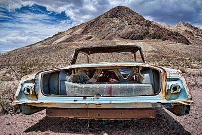 Abandoned In The Desert Poster